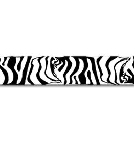 "Eze Crest Wraps Eze Crest Arrow Wraps Black/White Zebra 4"" 1Doz."