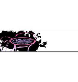 """Eze Crest Wraps Eze Crest Arrow Wraps Mathews Passion Pink 4"""" 1Doz."""