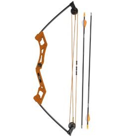 Bear Archery Bear Apprentice Youth Compound Set RH Blaze Orange