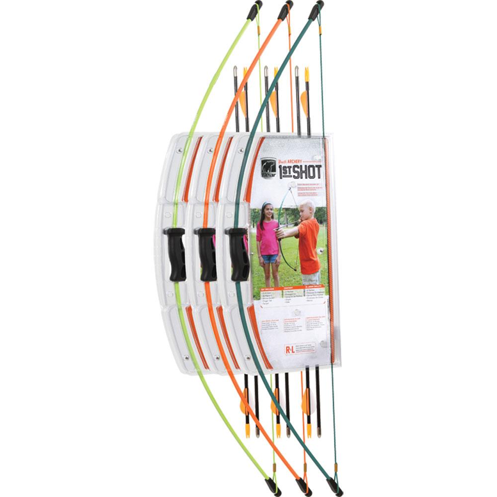 Bear Archery Bear 1 Shot Youth Recurve Set LH or RH Flo Orange