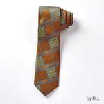 Neck Tie, Passover Matzah Design, Faux Silk