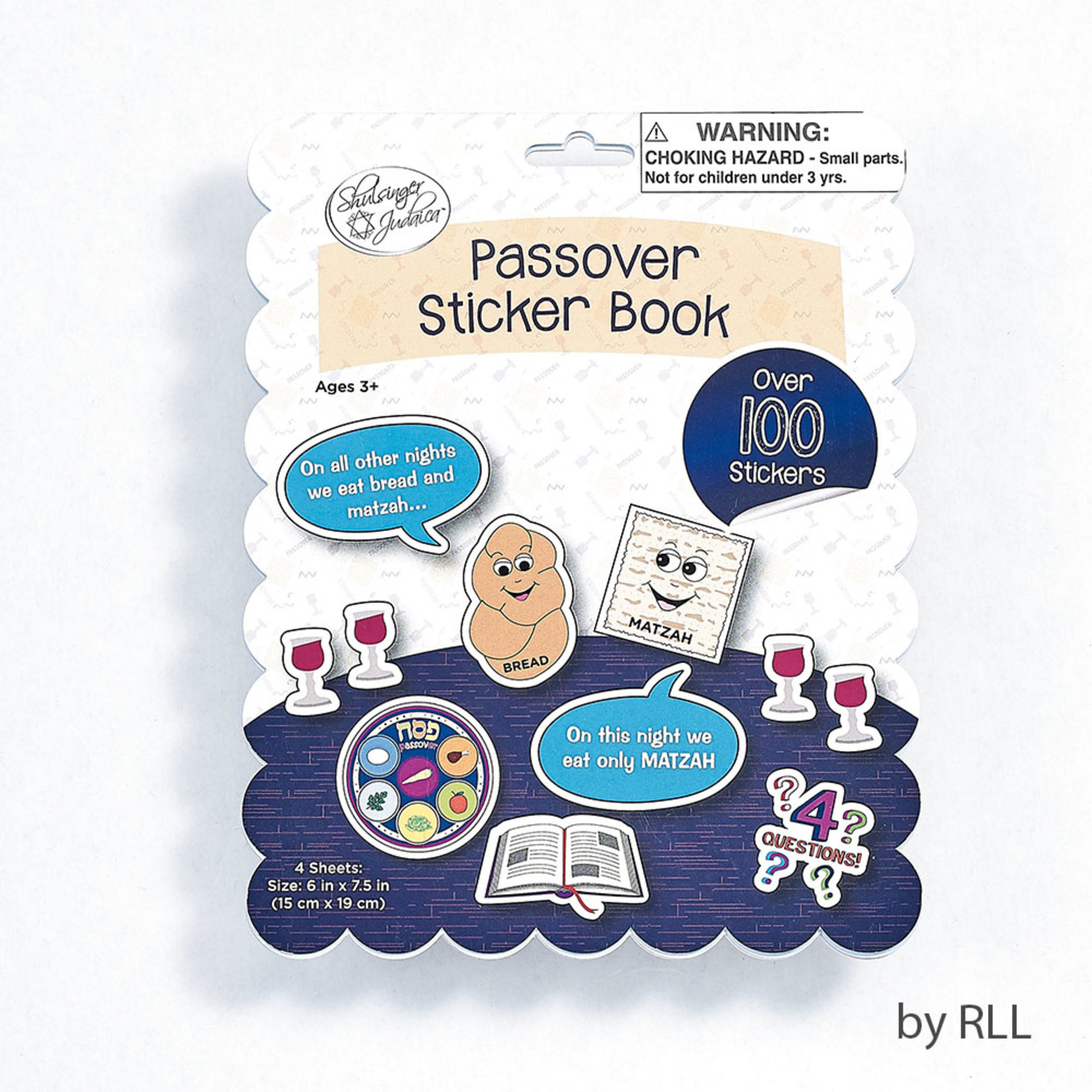 Passover Sticker Book, 100 Stickers