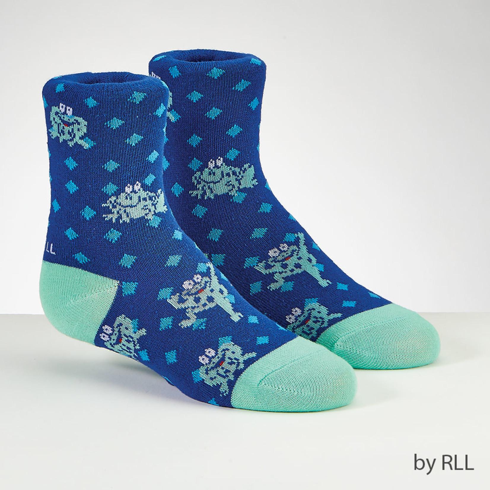 Passover Socks, Kids Size, Frogs
