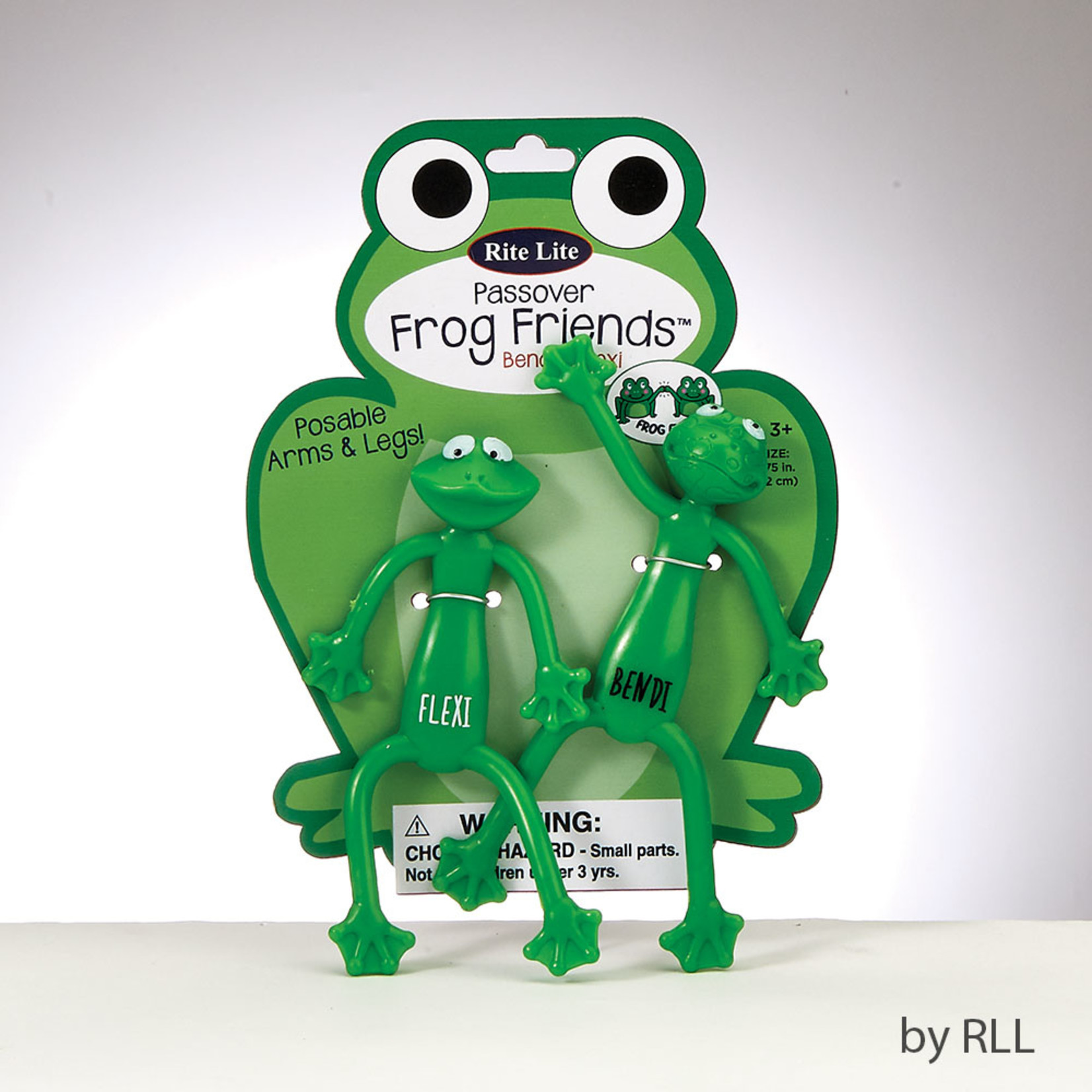 Bendable Frogs, 2-pack