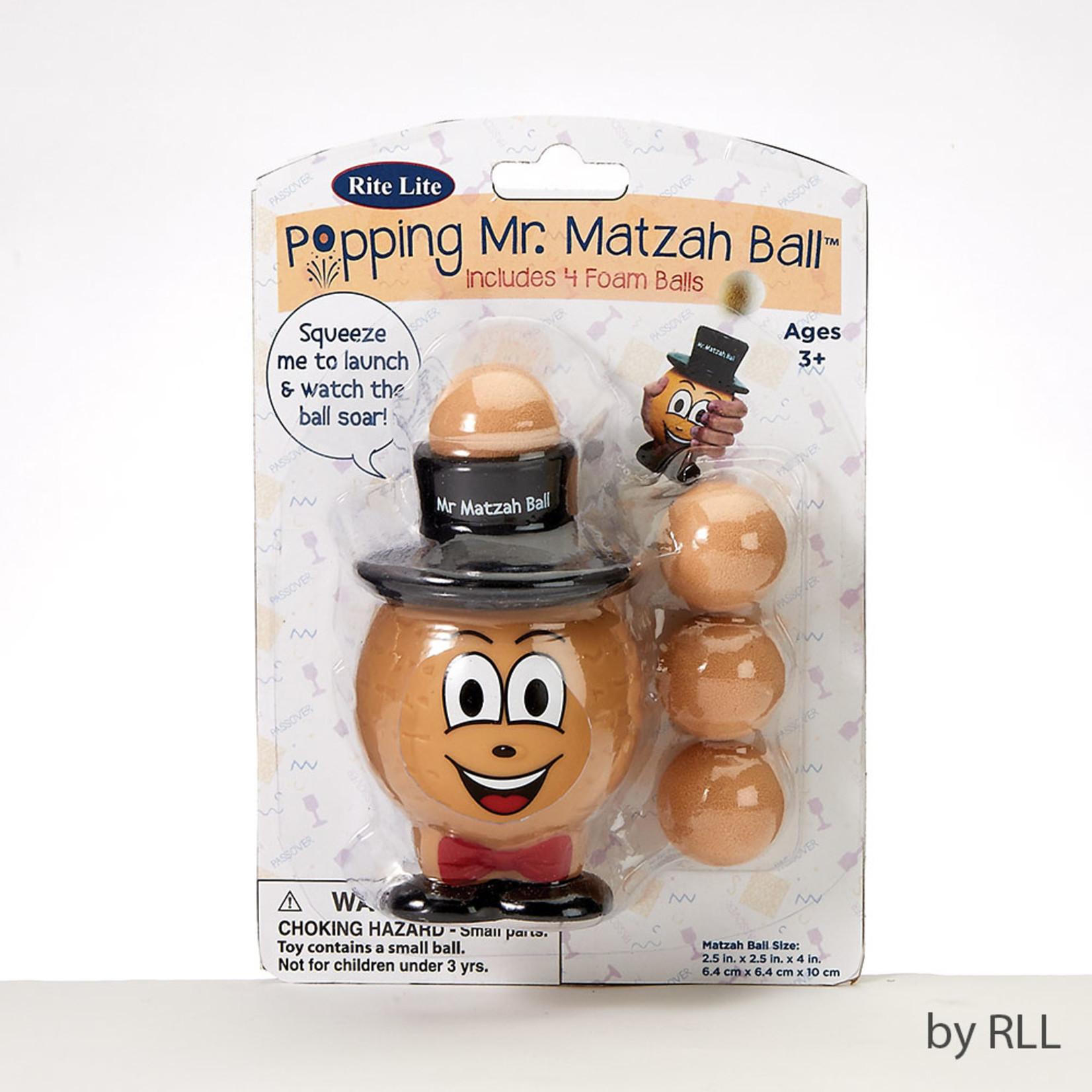 Popping Mr Matzah Ball