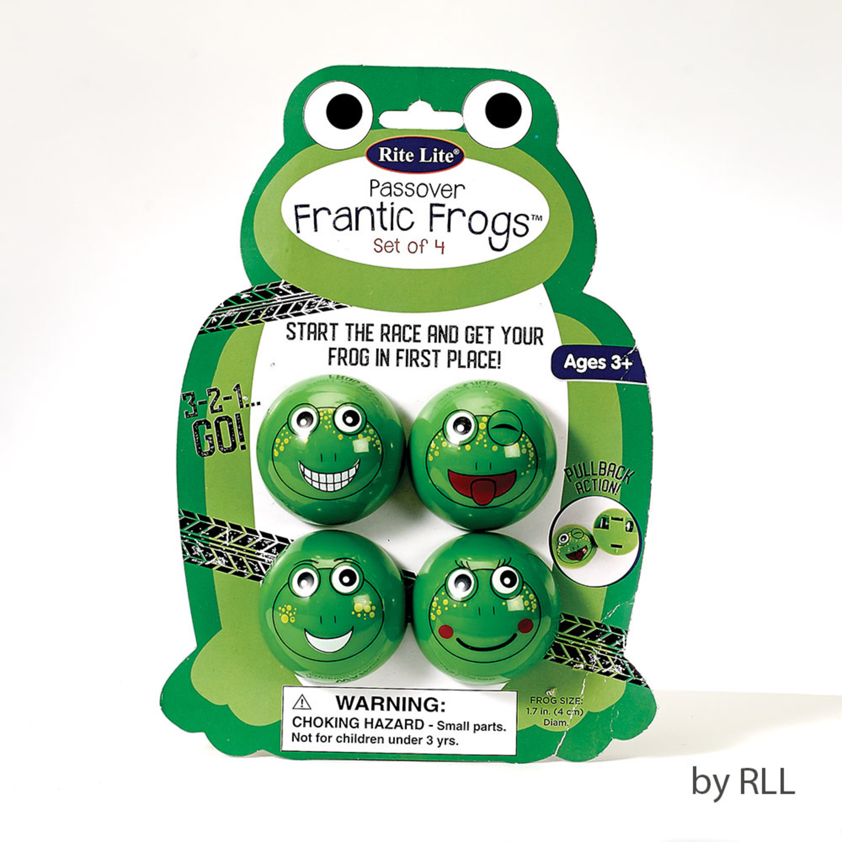 Frantic Frogs, Set of 4