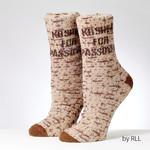 Slipper Socks, Adult Size, ''Kosher for Passover''