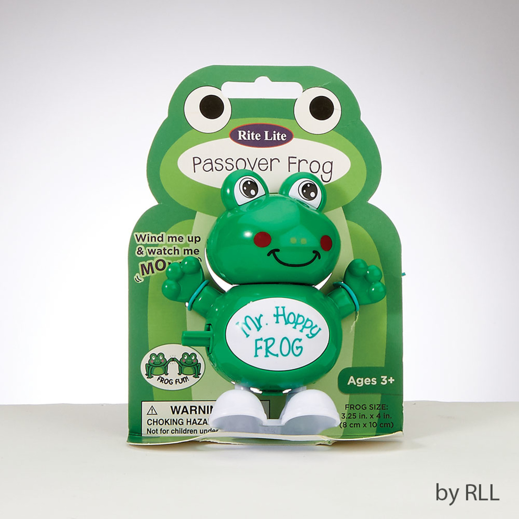 Wind-Up Hopping Frog