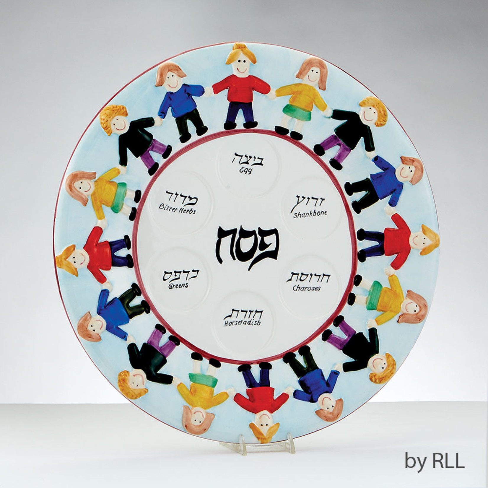 Seder Plate, Ceramic