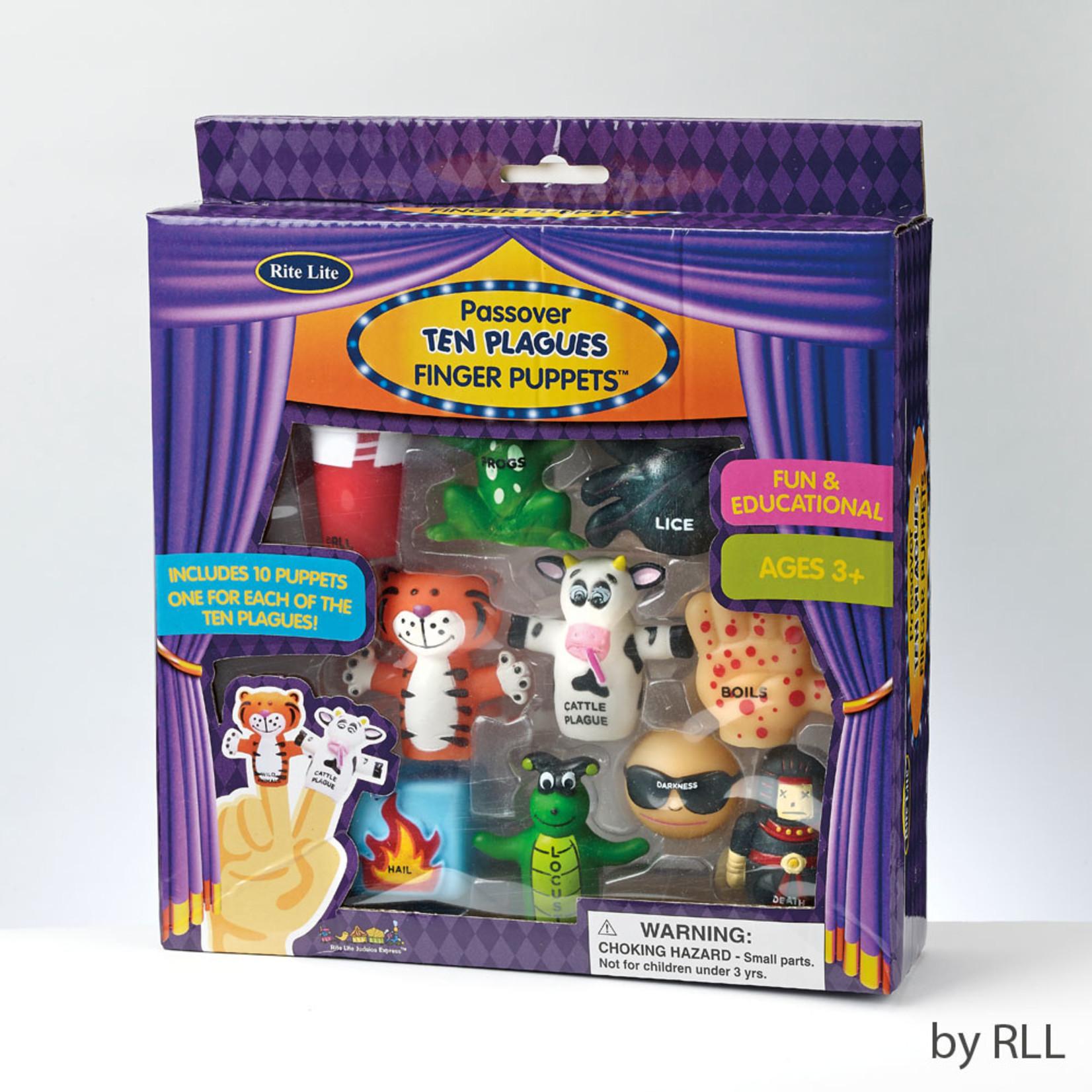 Ten Plagues Finger Puppets, Vinyl
