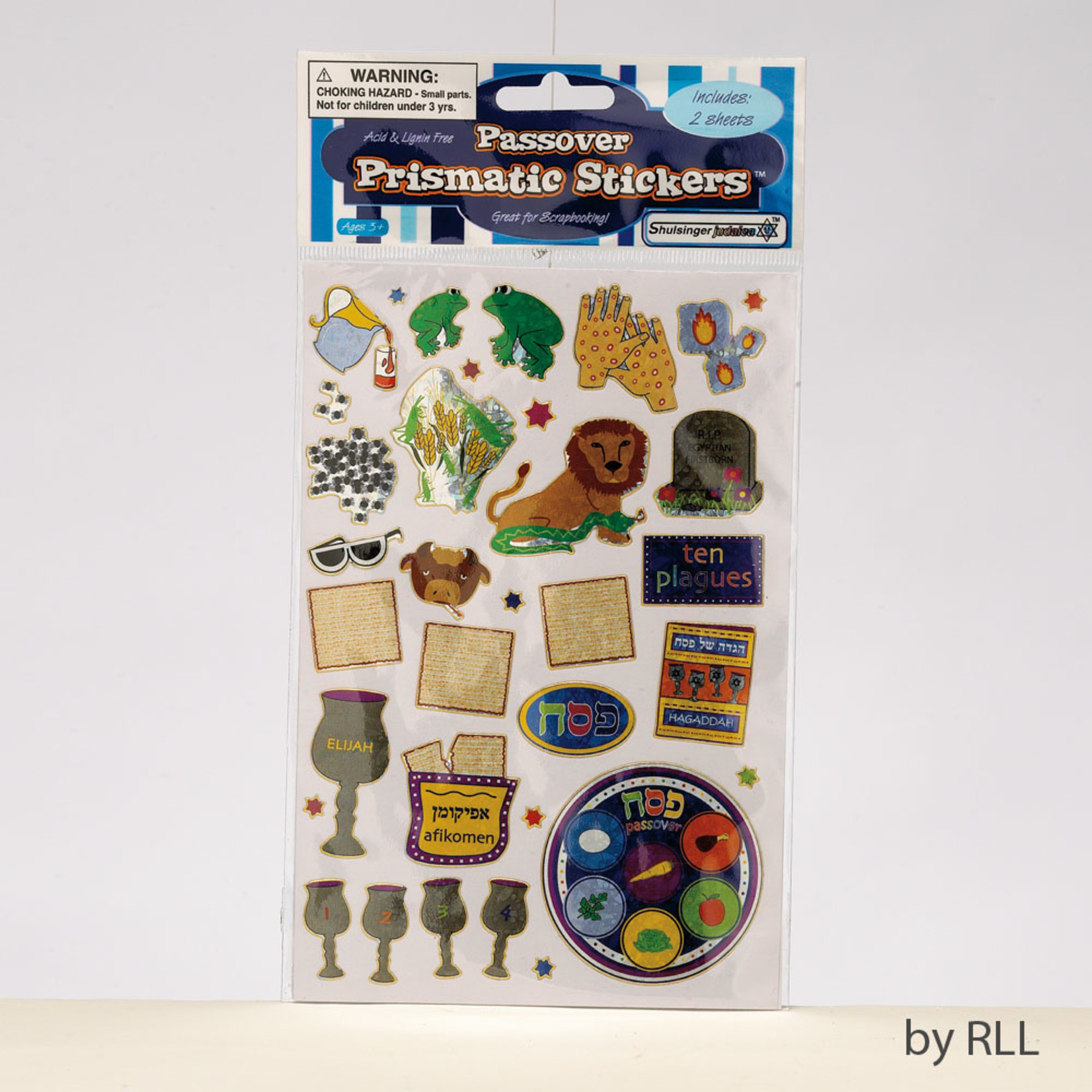 Passover Stickers, 2 Sheets
