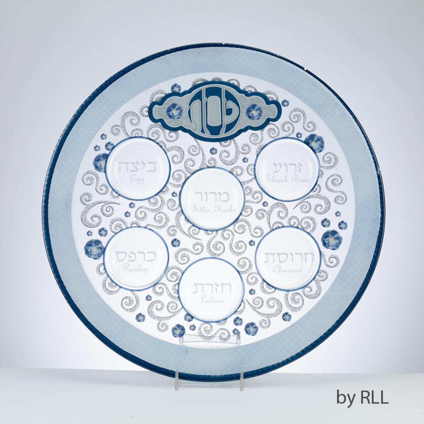 Seder Plate, Glass