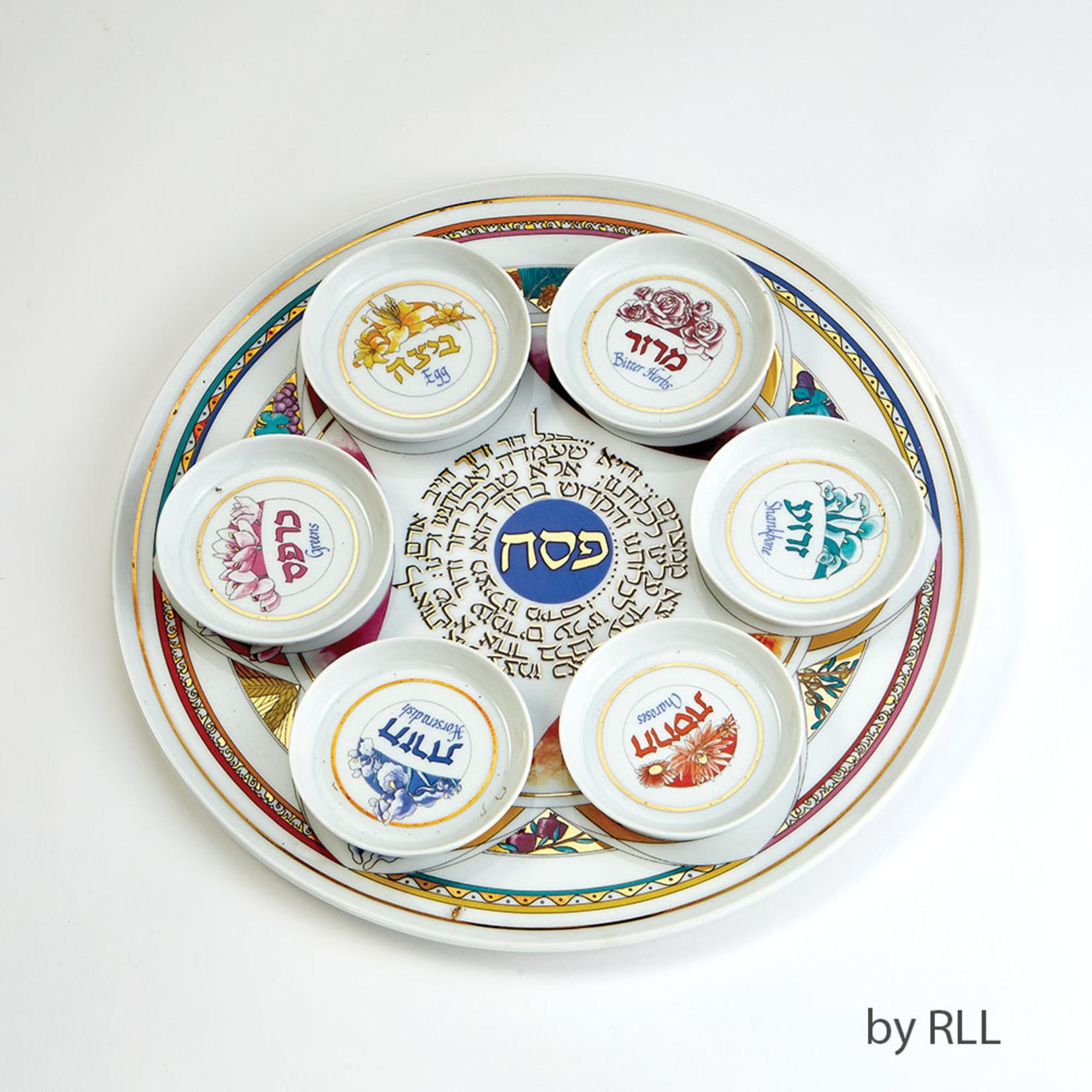 Seder Plate, Porcelain