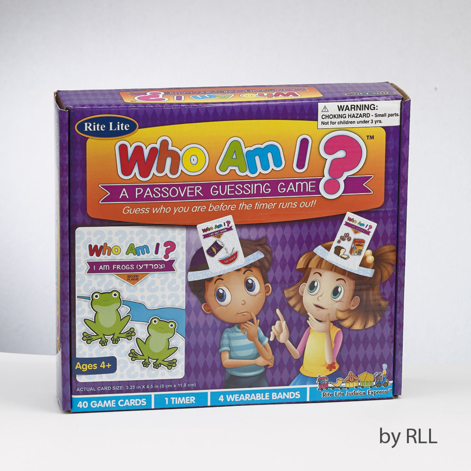 ''Who Am I?'' Passover game