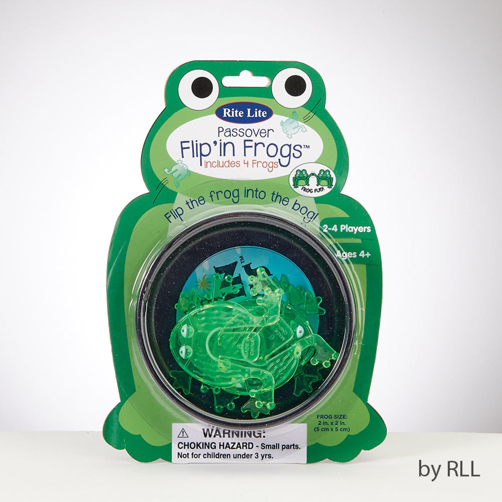 Flip Frogs, 4-pack