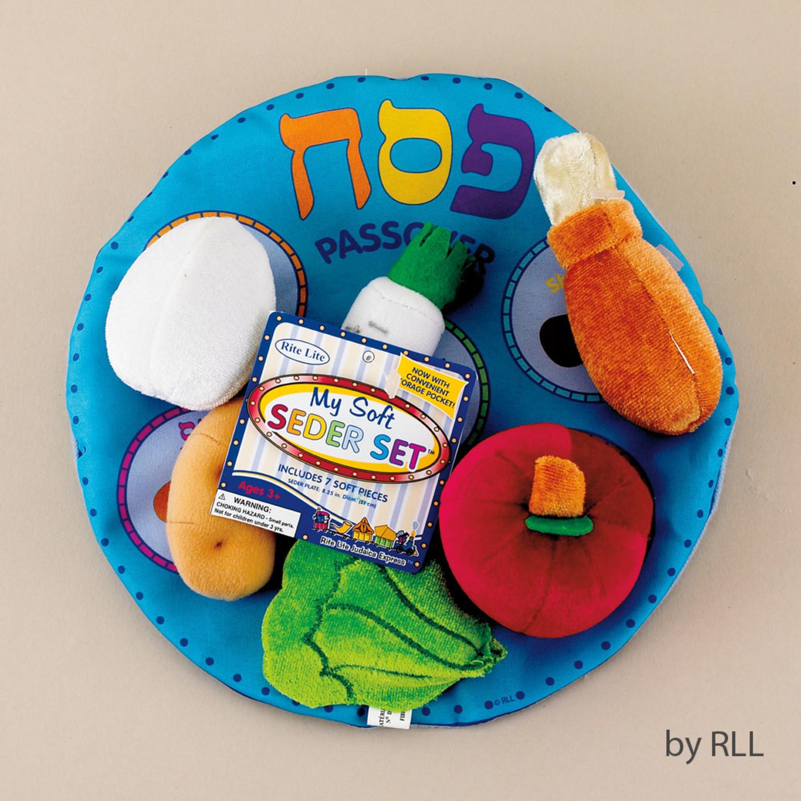 Plush Seder Set, 6pcs
