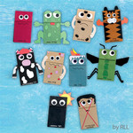 Ten Plagues Paper Bag Puppets with Foam Accents