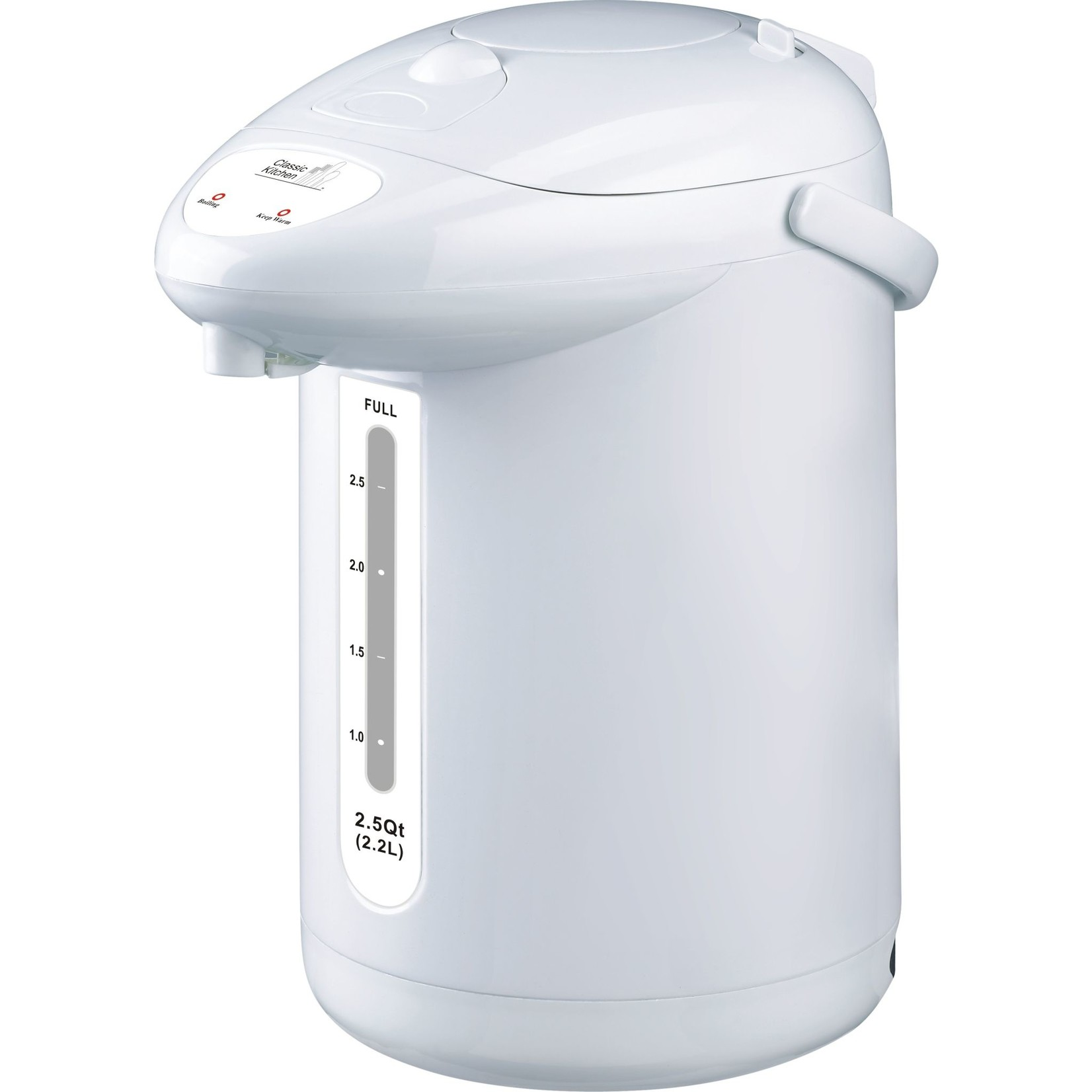 Classic Kitchen Water Heater with Pump Dispenser - 12 Cup