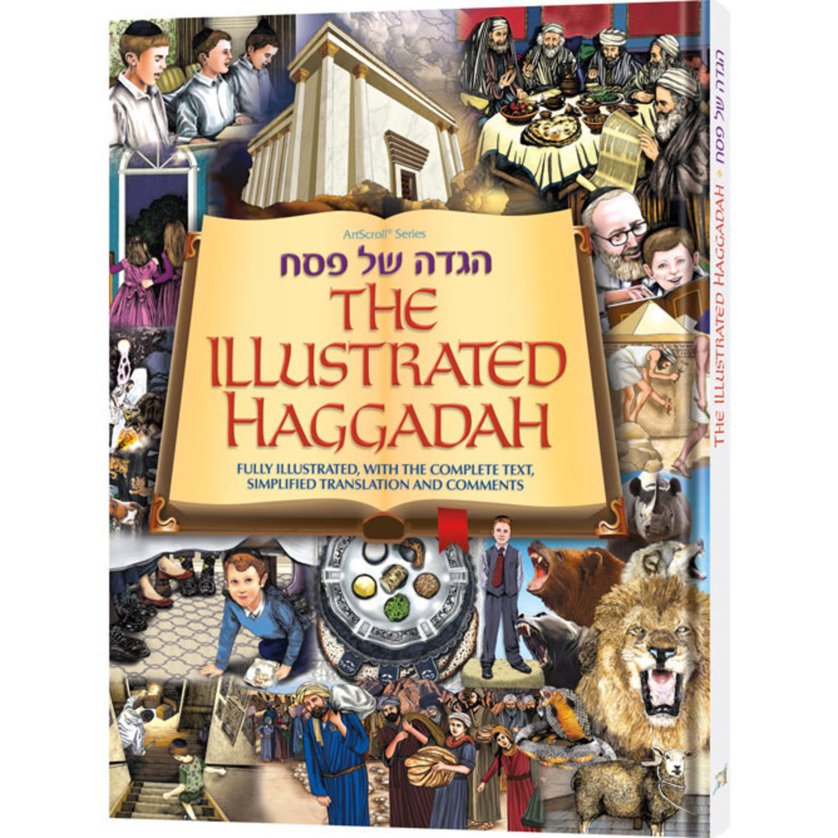 Illustrated Haggadah, Hardcover