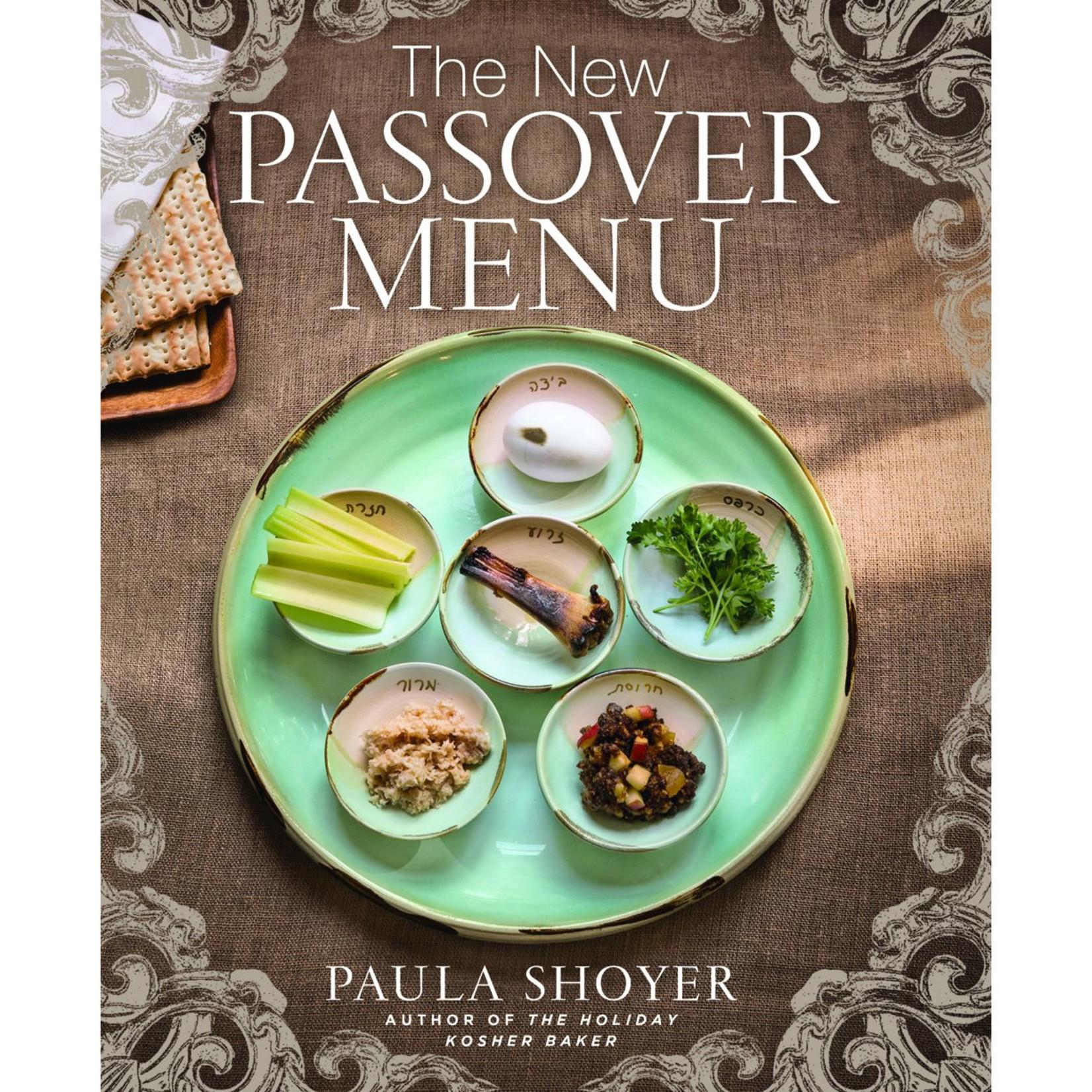 Paula Shoyer New Passover Menu, The