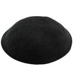 DMC Knit Kippah, Black, 20cm