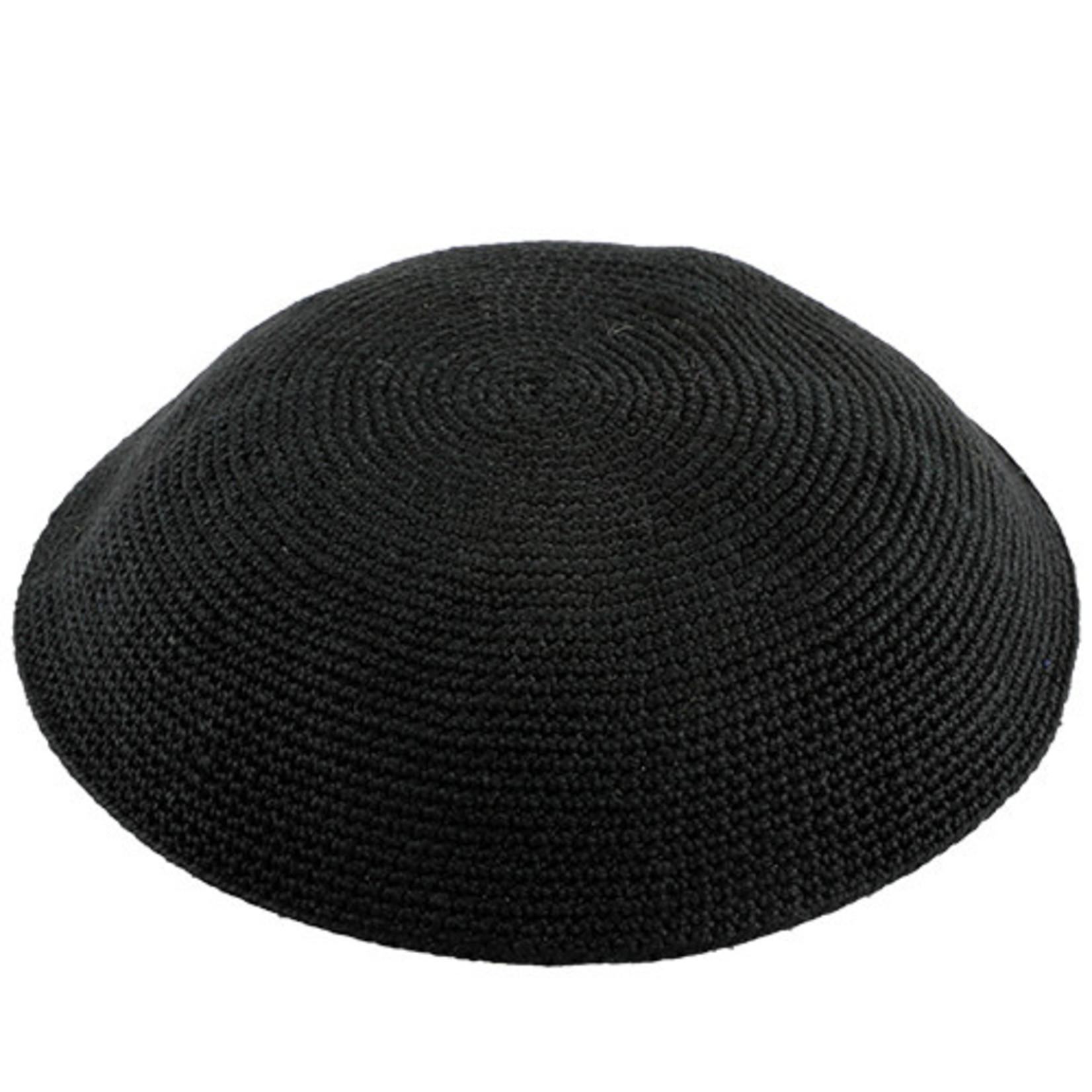 DMC Knit Kippah, Black, 13cm