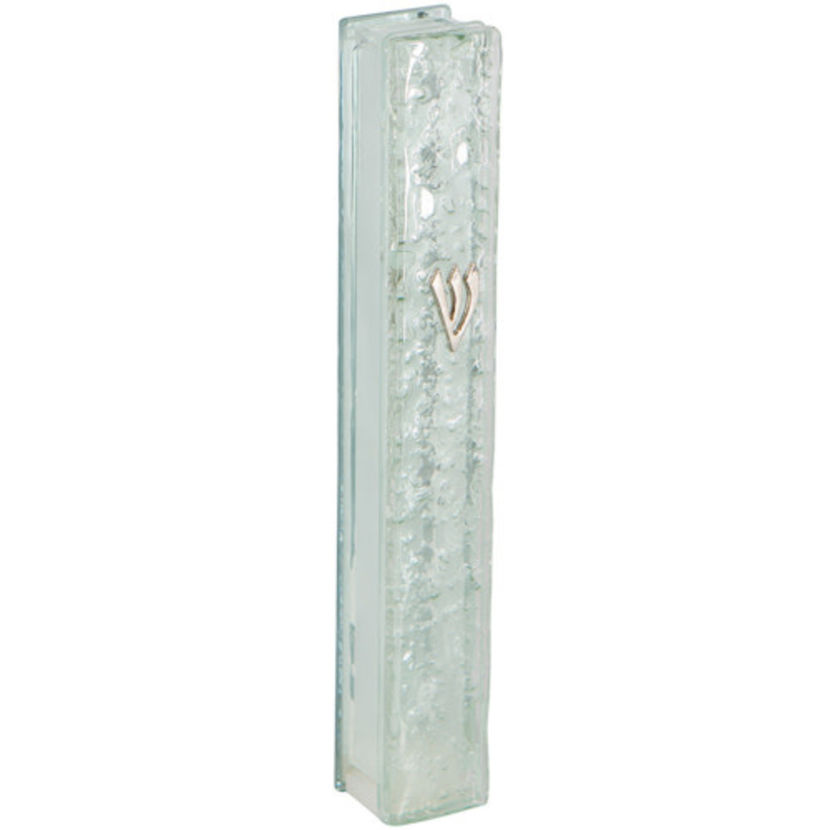 Mezuzah Case, Glass, 10cm
