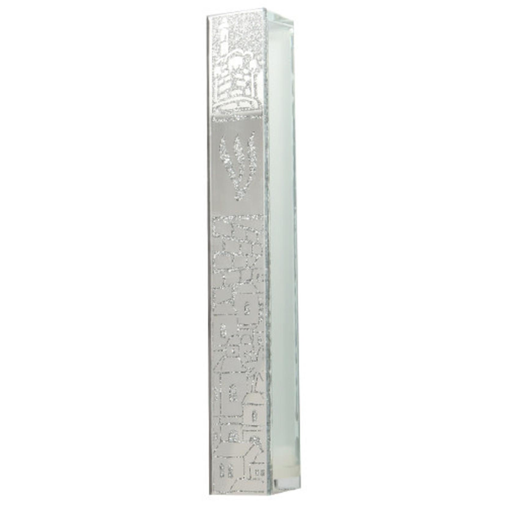 Mezuzah Case, Glass, 10cm
