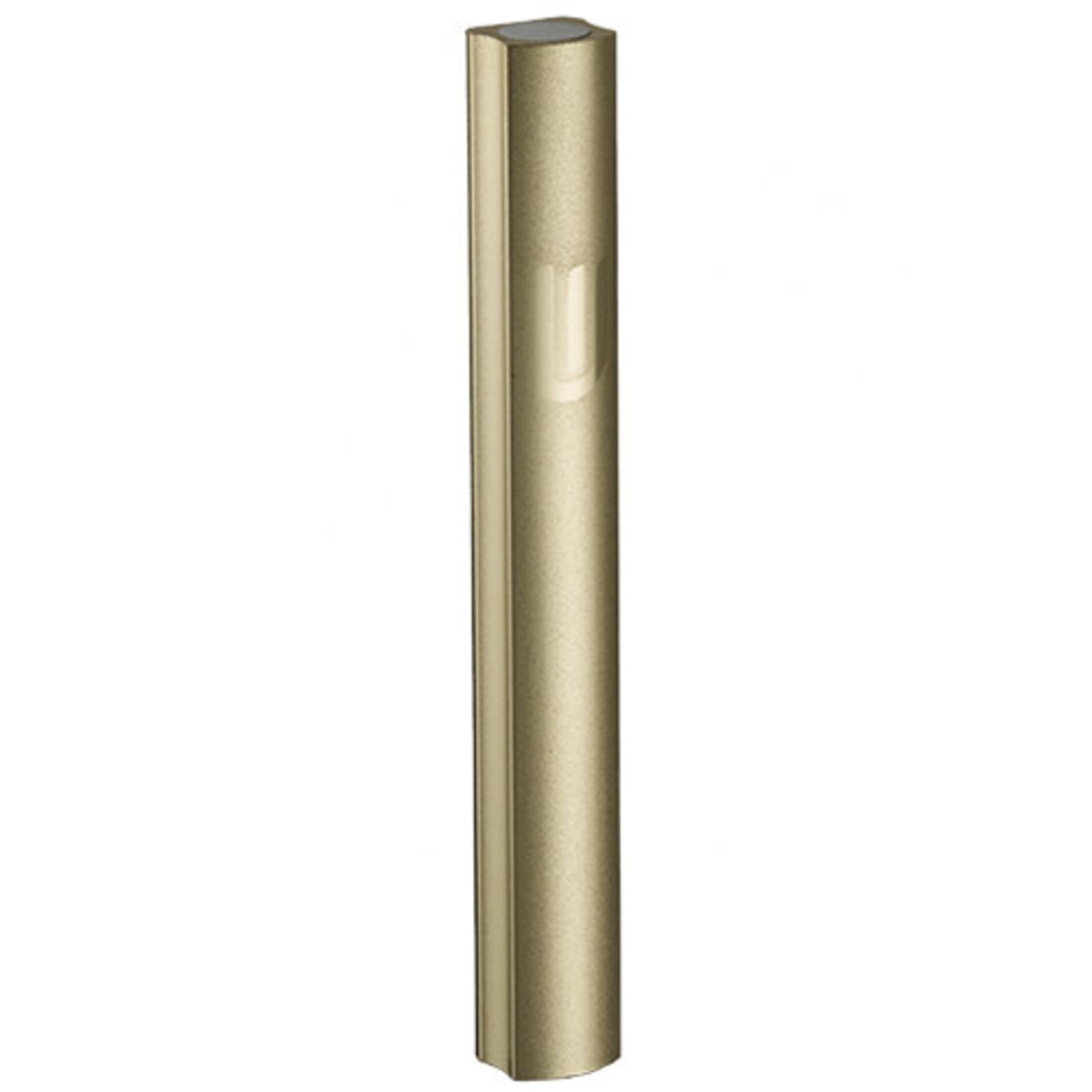 Mezuzah Case, Sandblasted Aluminum, 10cm