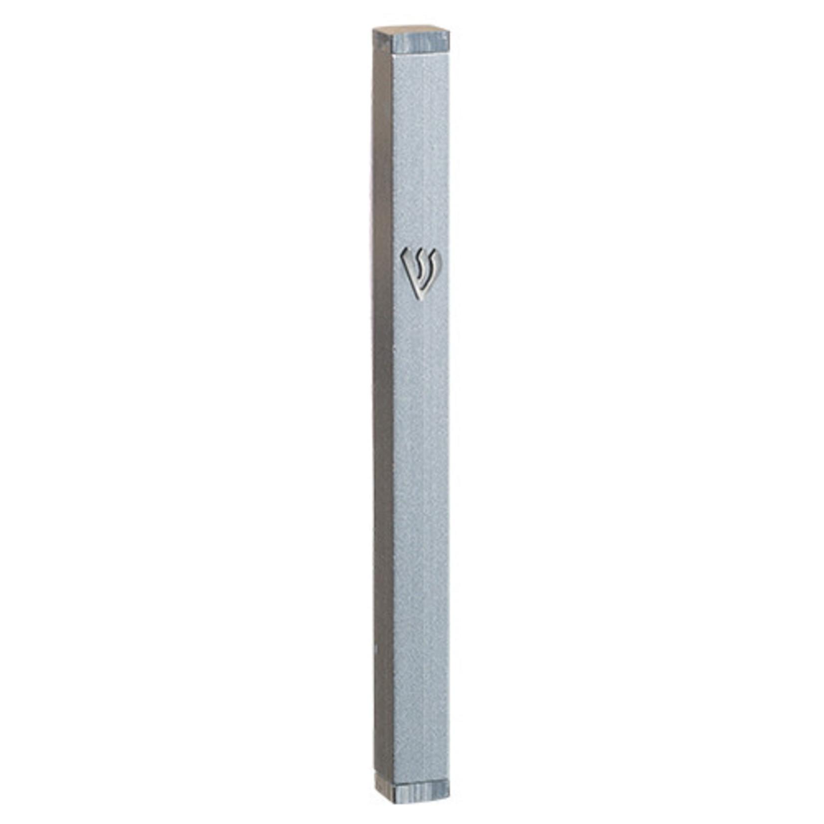 Mezuzah Case, Aluminum, 10cm