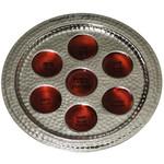 Seder Plate, Aluminum, 14in