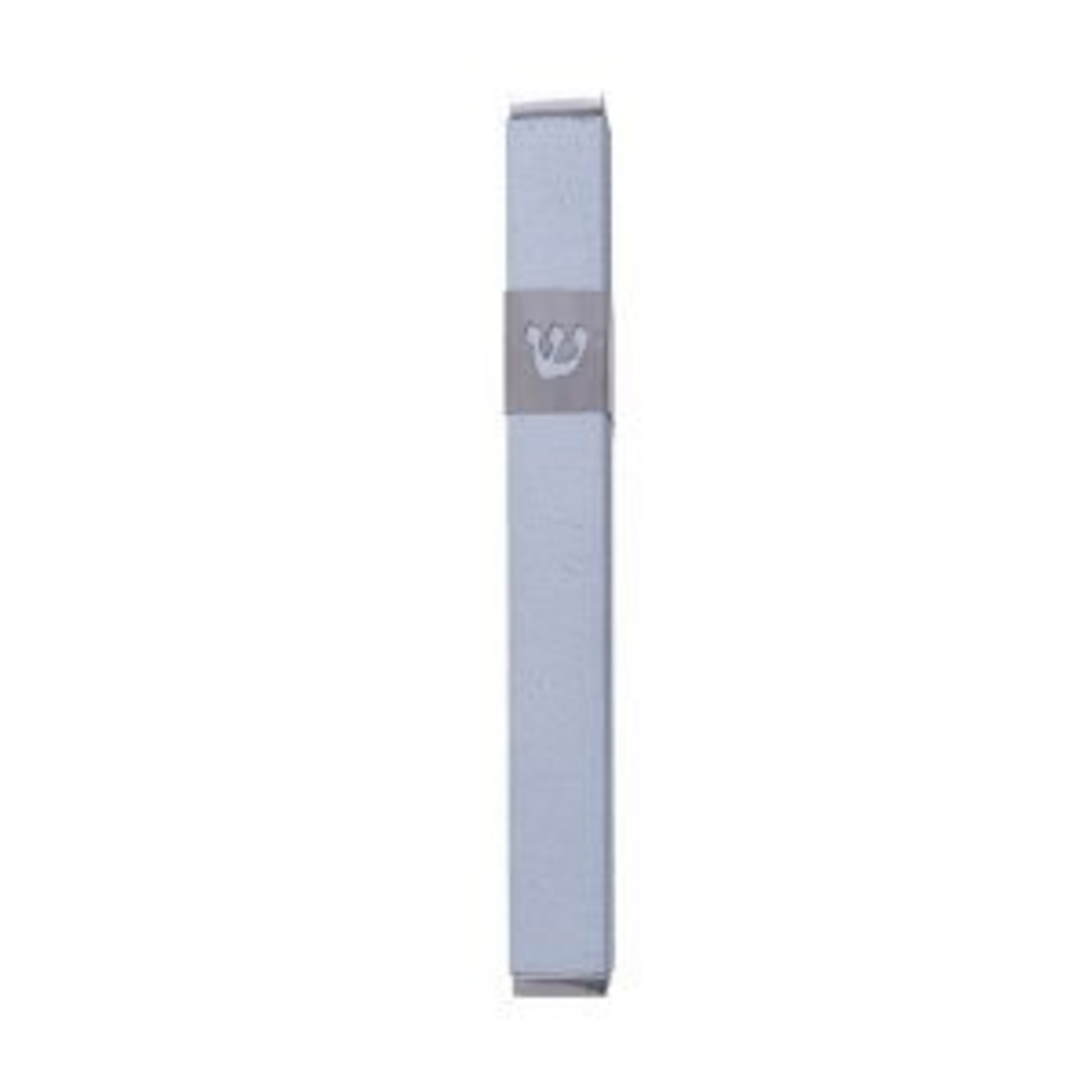 Yair Emanuel Mezuzah Case, Aluminum, 12cm