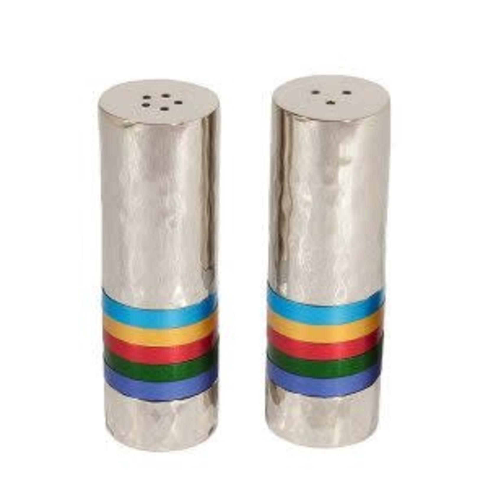 Yair Emanuel Salt and Pepper Shakers, Aluminum