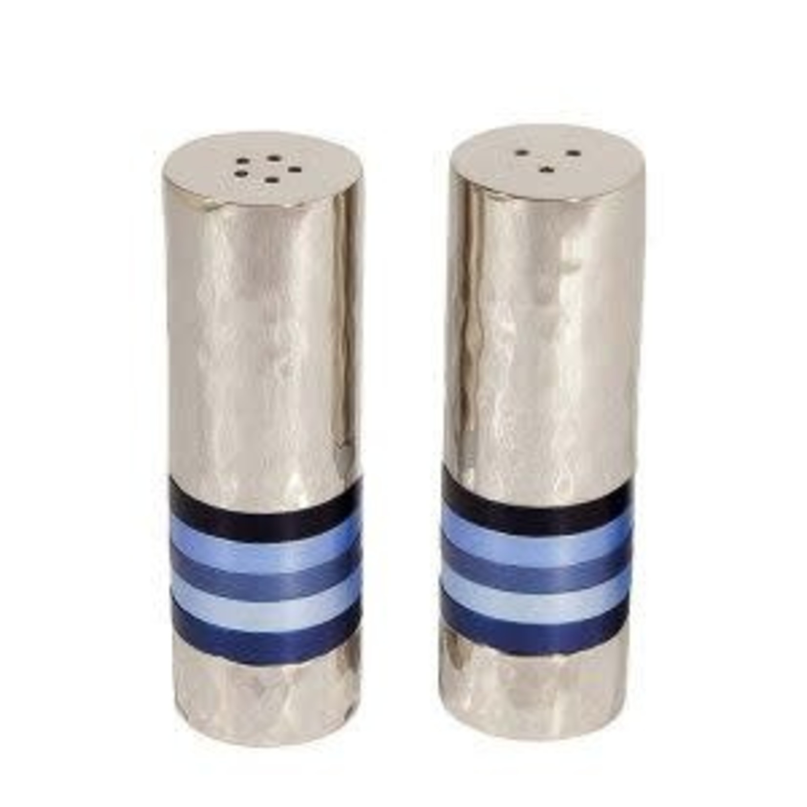 Yair Emanuel Salt and Pepper Shakers, Aluminum