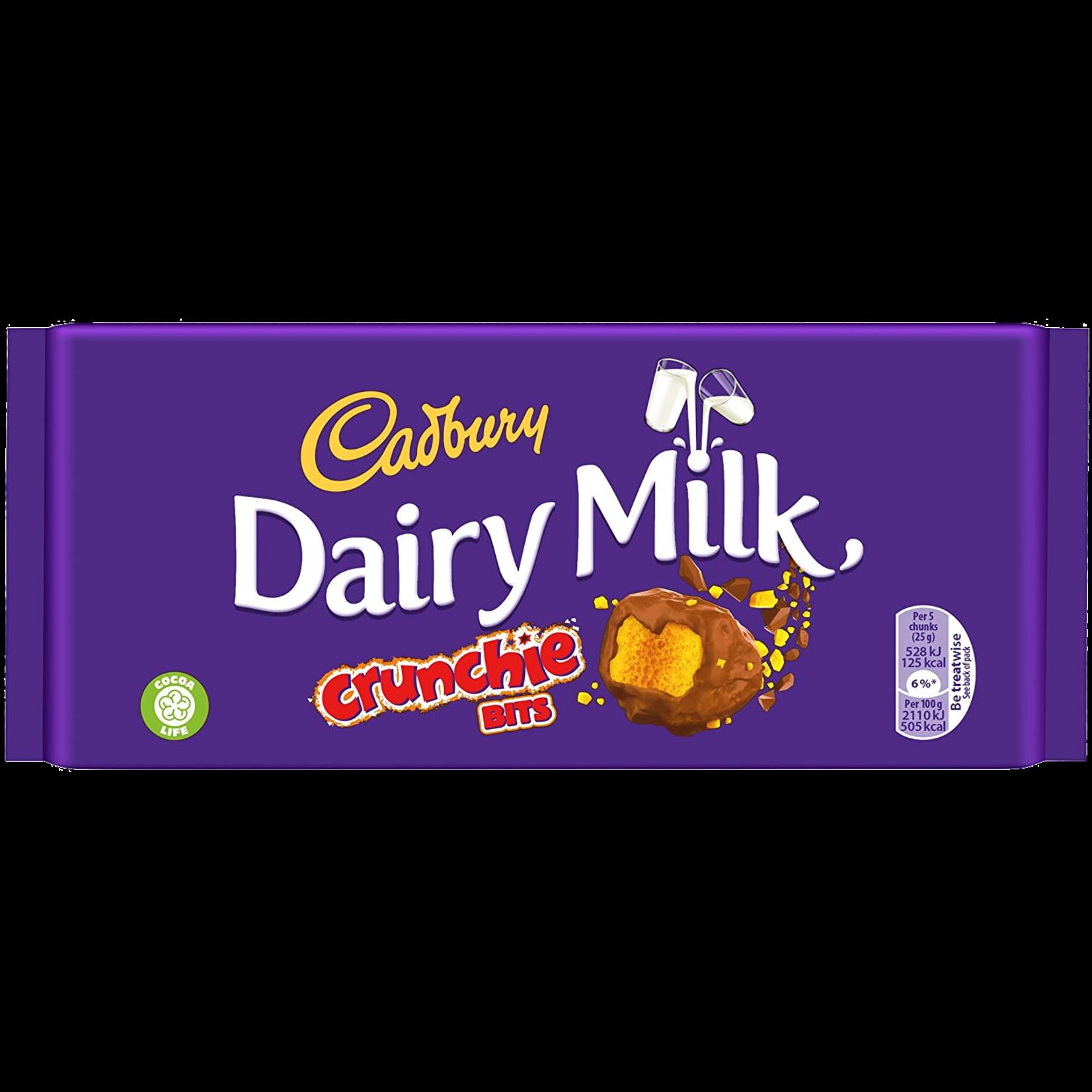 Dairy Milk with Crunchie Bits