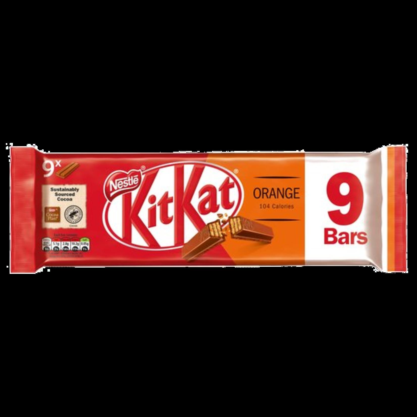 Kit Kat Orange, 9-pack, 9x20.7g