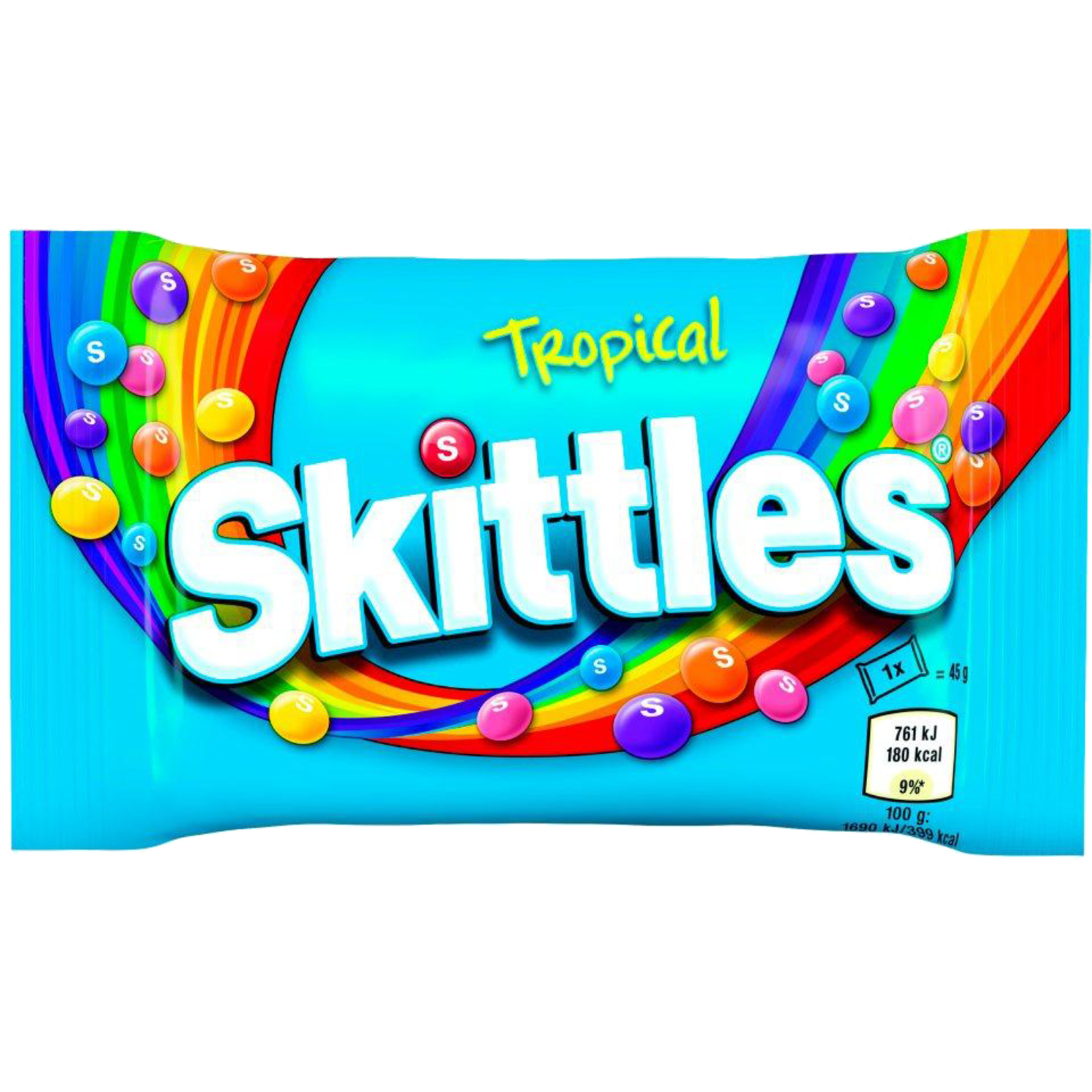 Skittles, Tropical Flavour, 45g