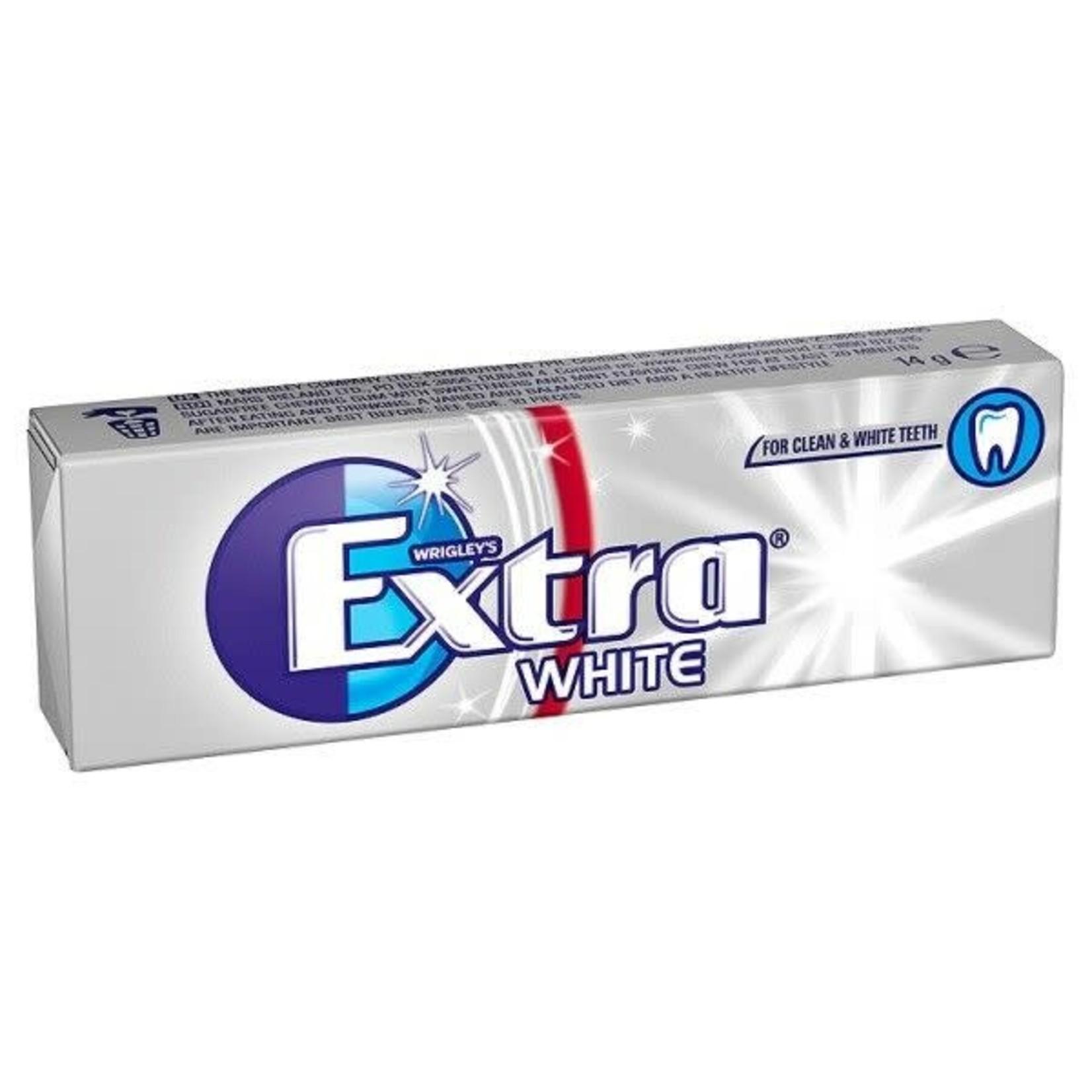 Wrigley's Extra, White Flavour, 10 pieces