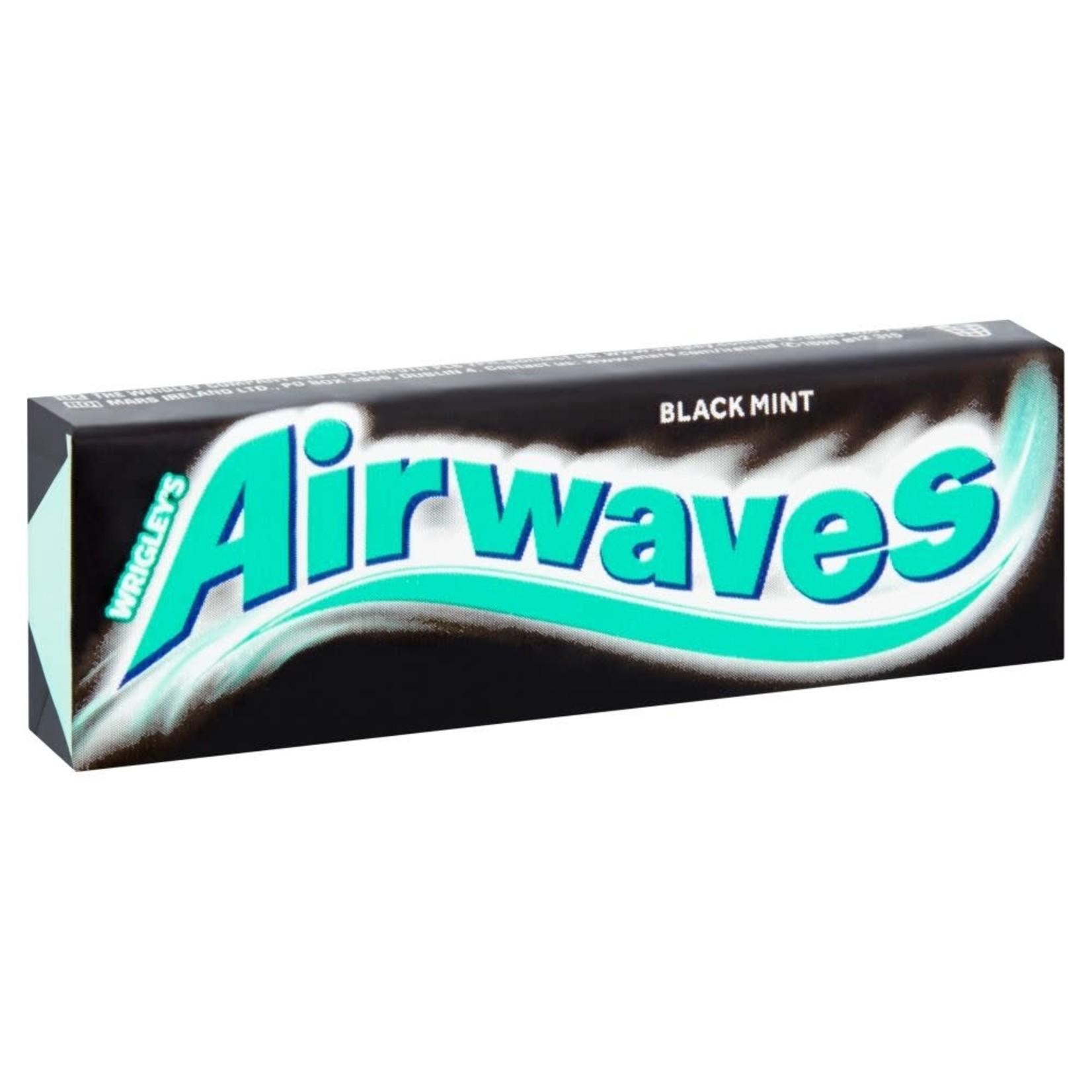 Airwaves, Black Mint Flavour, 10 pieces