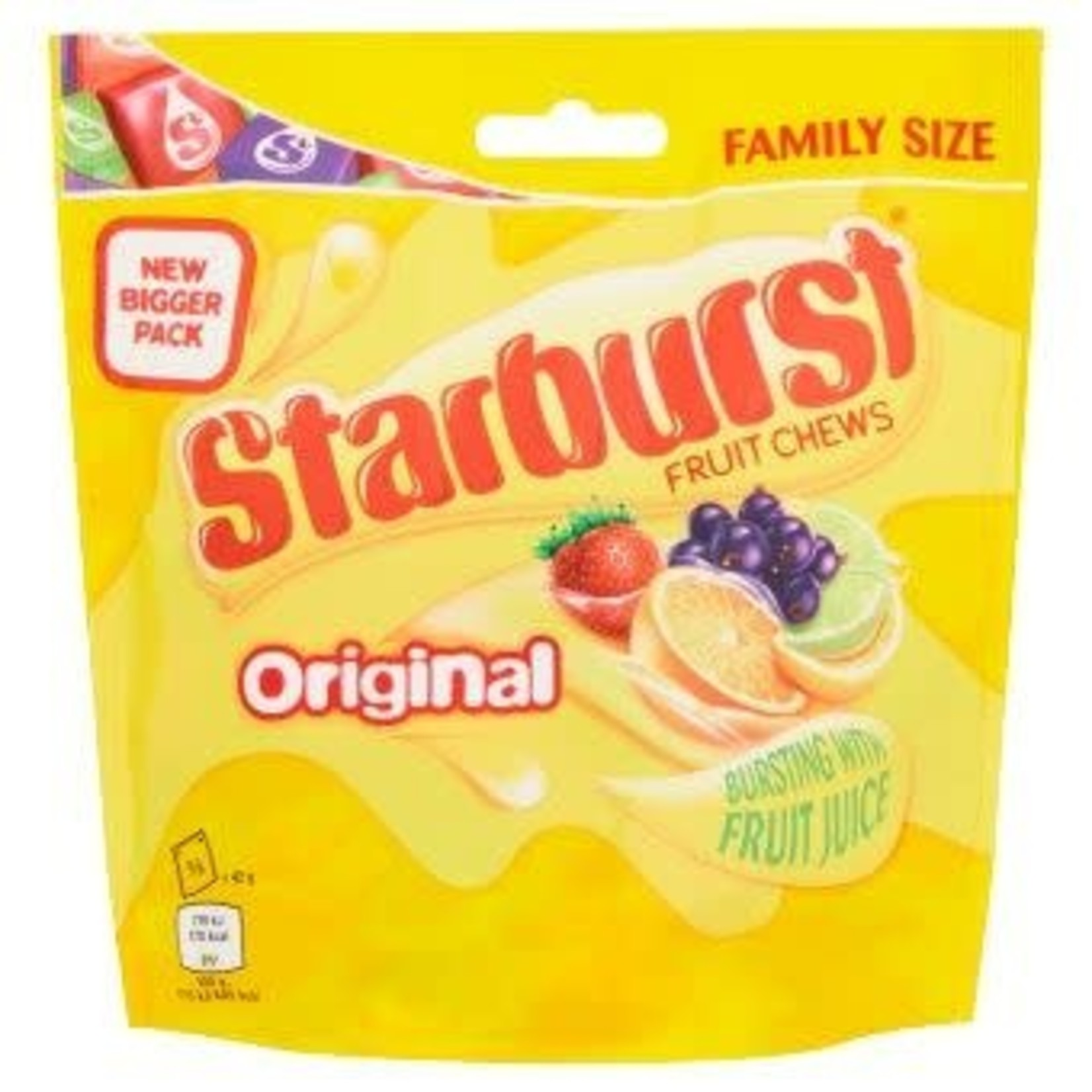 Starburst Original Family Size, 210g