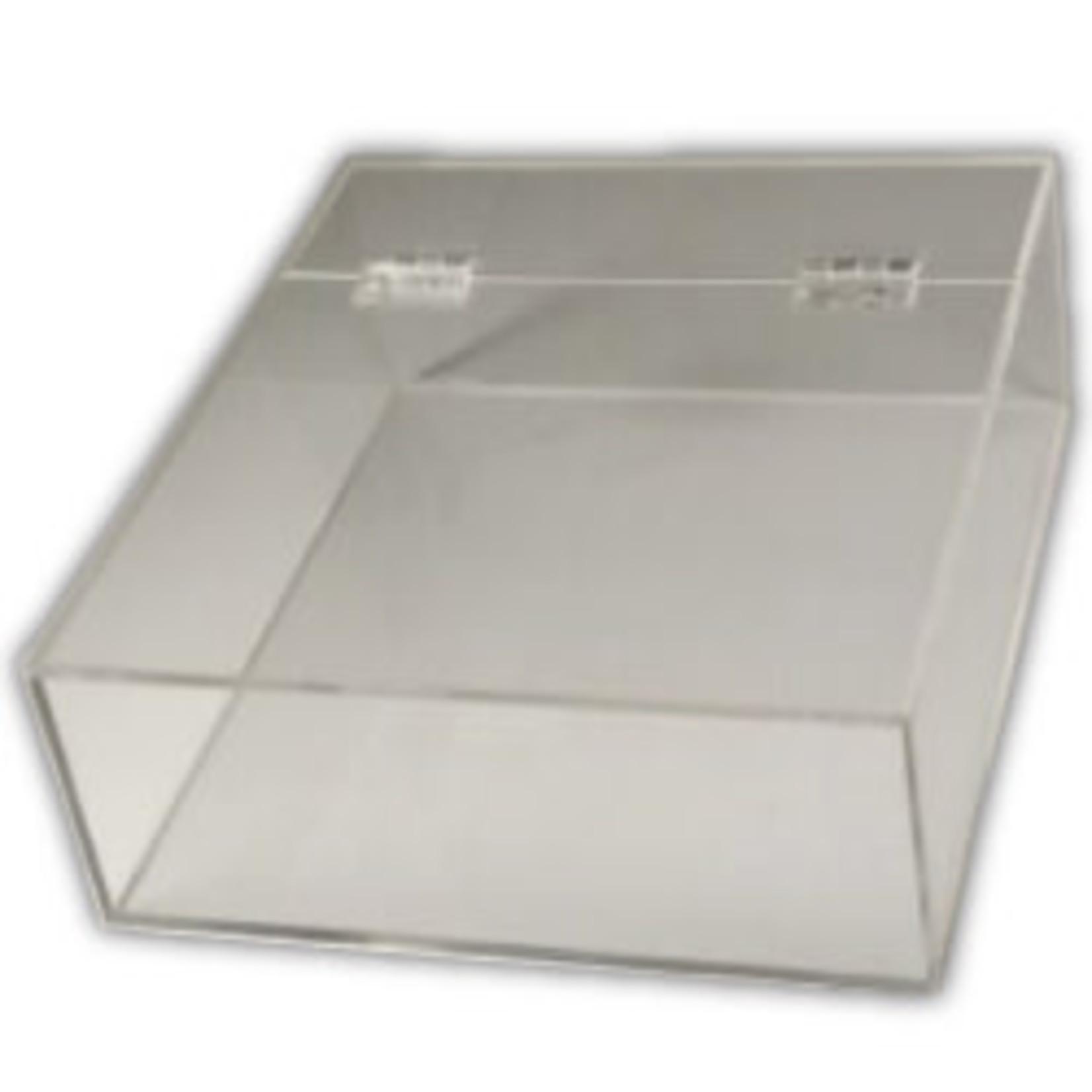 Judaica Selections Flip-Top Acrylic Shmurah Matzah Box