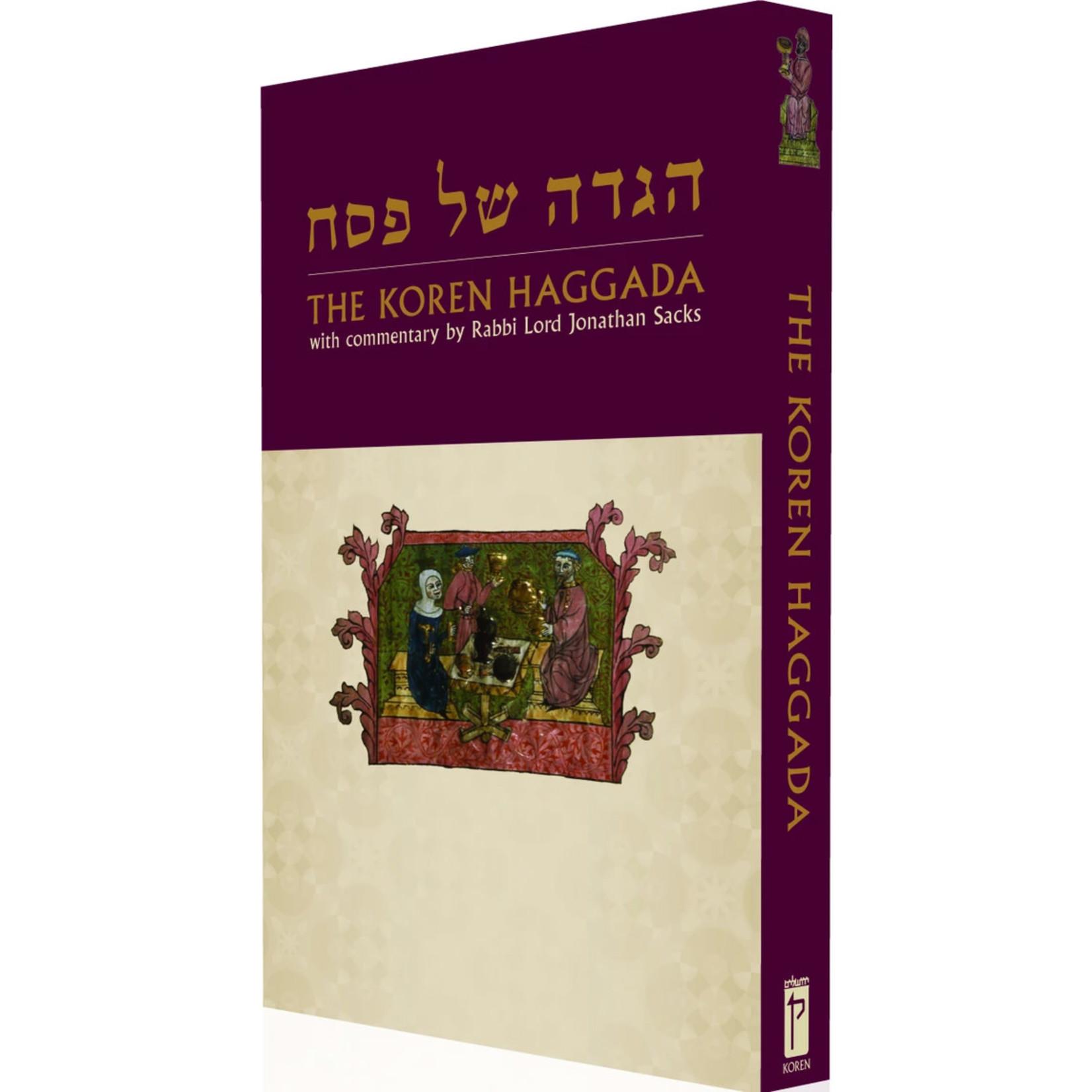 Rabbi Lord Jonathan Sacks Koren Sacks Haggadah
