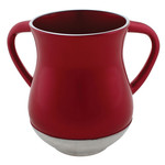 Washing Cup, Aluminum, Red