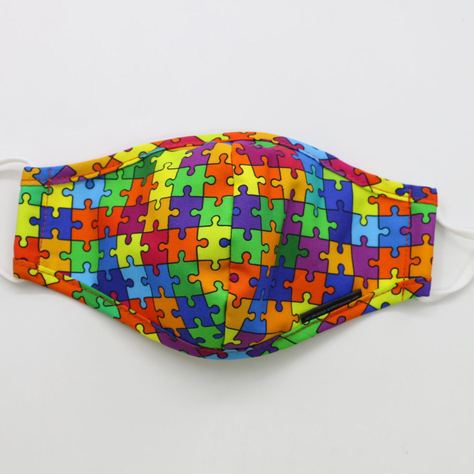 My Masked Expressions Kids' Size Mask, Jigsaw Puzzle