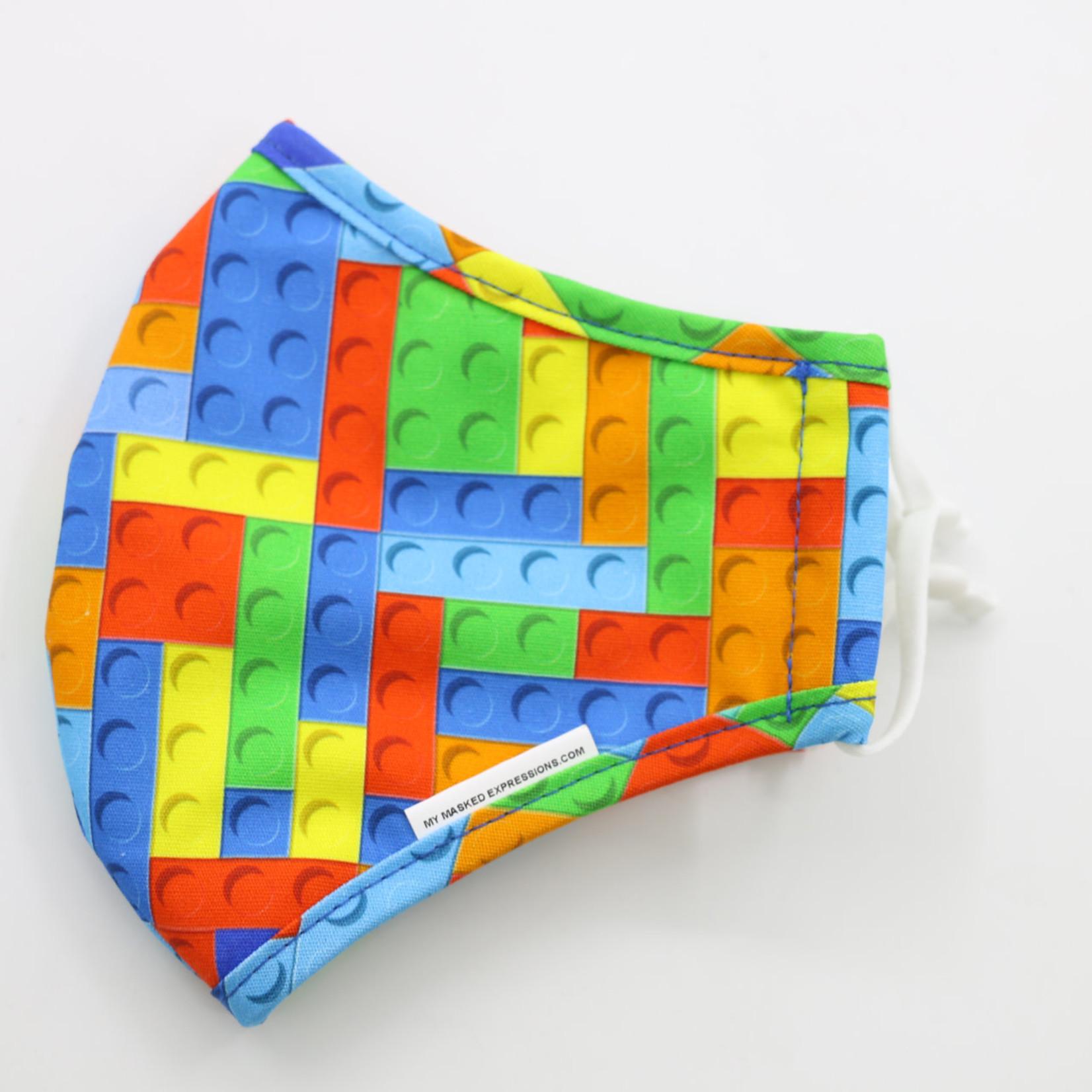 My Masked Expressions Adult Size Mask, LEGO
