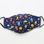 My Masked Expressions Kids' Size Mask, Outer Space