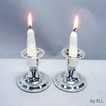 Candlesticks, Silver Plated