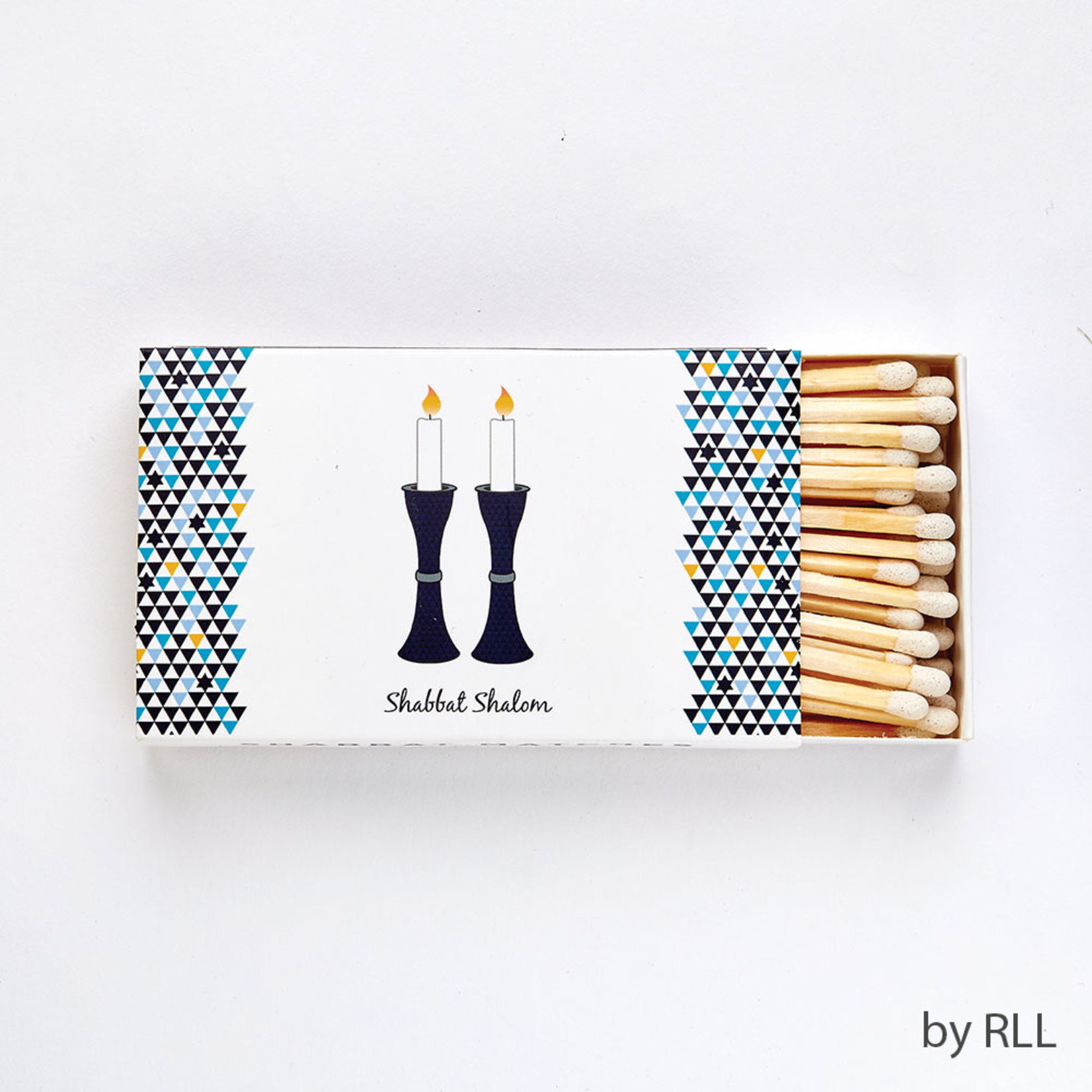 Shabbat Matches, Long, 50pcs