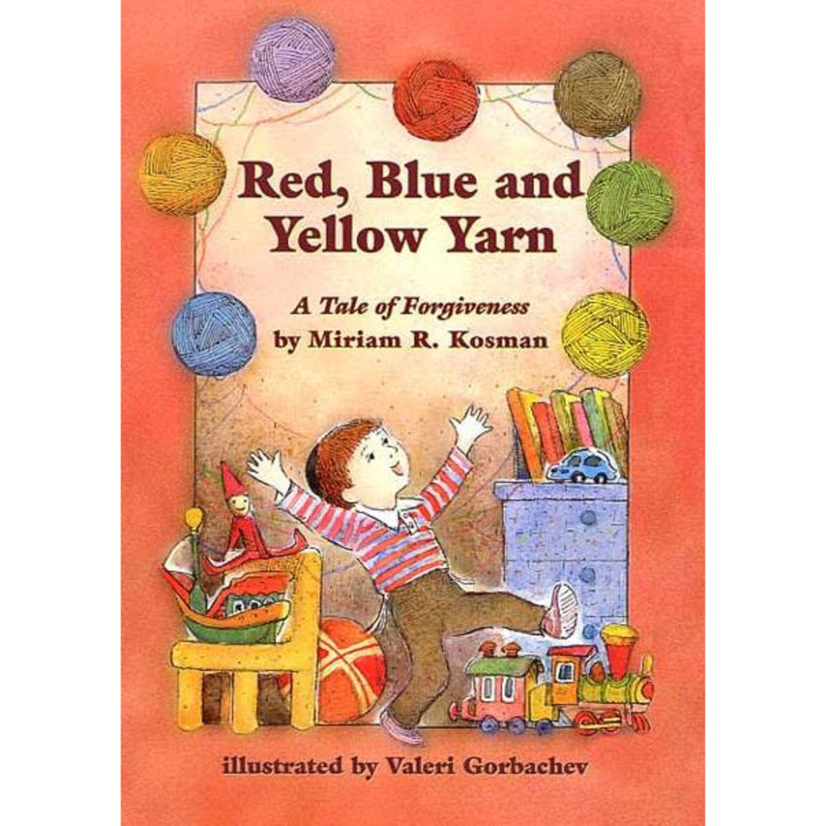 Red, Blue, and Yellow Yarn - A Tale of Forgiveness