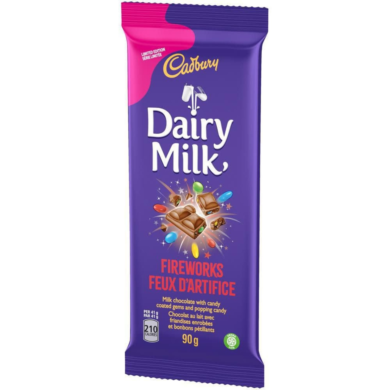Cadbury Dairy Milk Fireworks